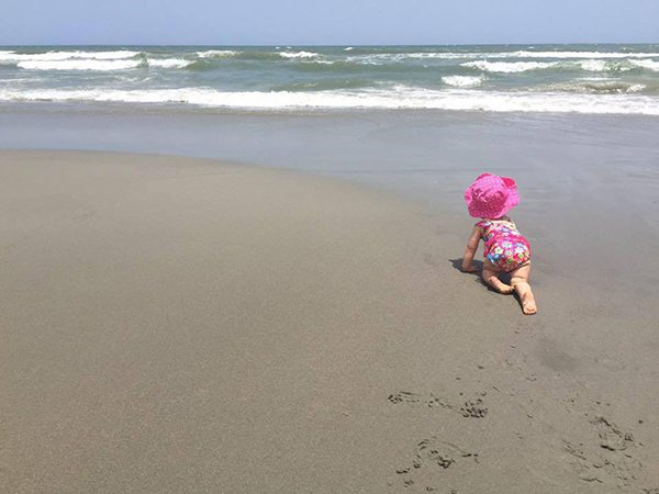 Our Editor-in-Chic shares a letter to her daughter about their recent vacation to Myrtle Beach, her first as a parent.